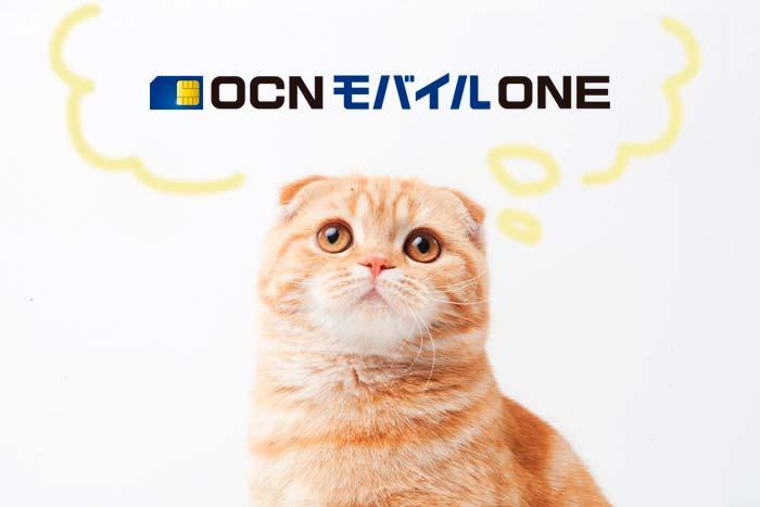 OCN モバイル ONを検討中