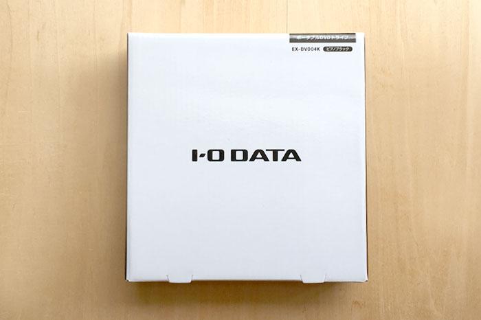 アイオーデータの外付けDVDドライブEX-DVD04はコスパ最高!