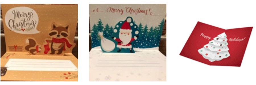 ブラザー プリントテラスのクリスマスカード