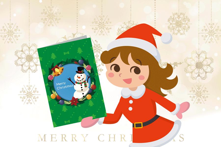 【無料】超使えるクリスマスカードをダウンロード!【テンプレート】