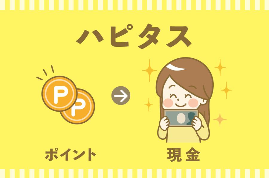 ハピタスのポイントを銀行振込(現金交換)する手順【手数料無料】
